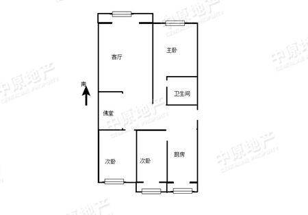 顺泰公寓-户型图