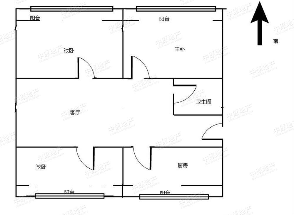 程林里-户型图