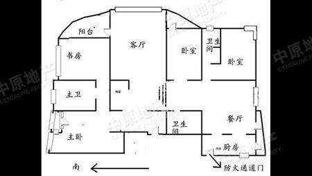 江胜天鹅湖-户型图