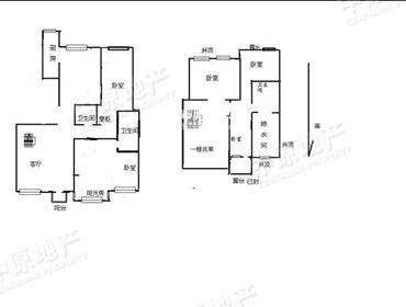 半岛豪庭 电梯入户9层到顶洋房 少数经典顶跃户型 实用面积大