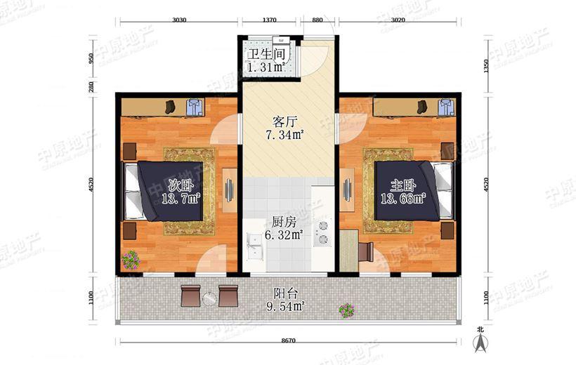 私产过5年 无二套 中心学片 地铁附近急 价格优势该房子在此小区价位