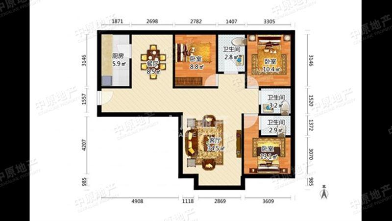 宁静家园 品质信誉房 总价合适房源 诚意出售房源 看房方便