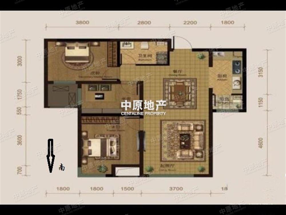 半湾半岛 次新房融创开发 高楼层精致三室 纯毛坯适宜居住!