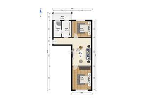 凌研里 2室1厅1卫 南北通透 拎包入住图片