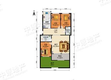 中环公寓-户型图